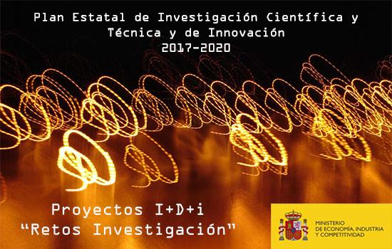 Convocatoria de Proyectos I+D+i «Retos Investigación» 2018