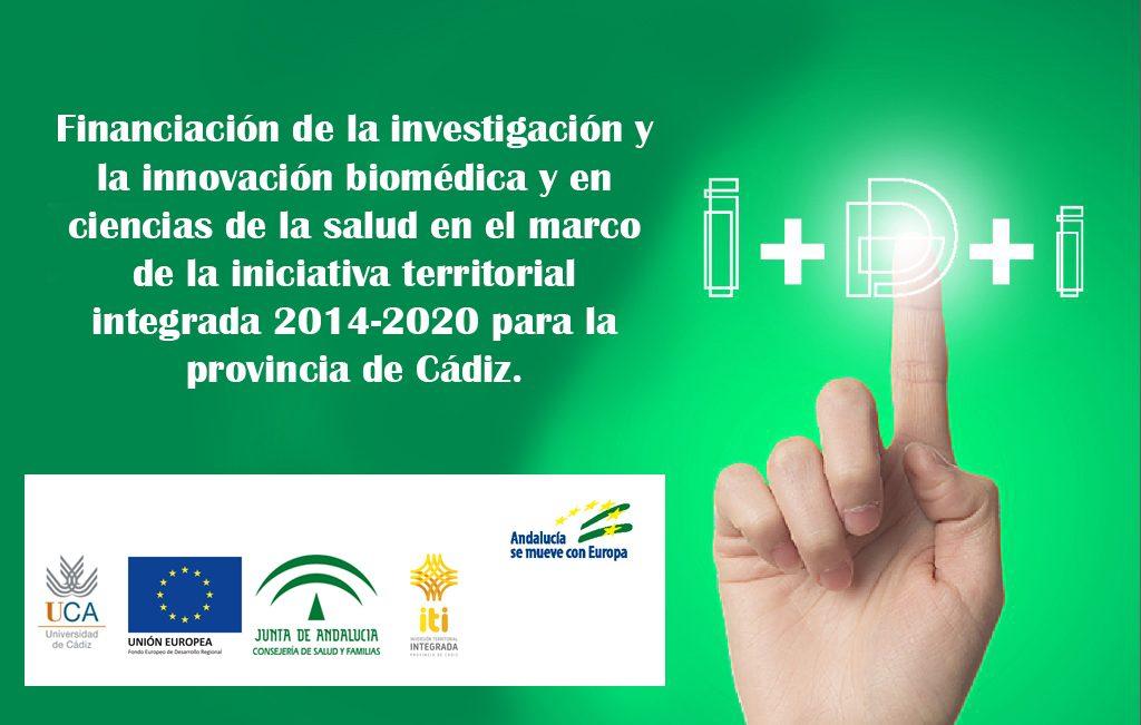 IMG Financiación de la investigación y la innovación biomédica y en ciencias de la salud – ITI Cádiz