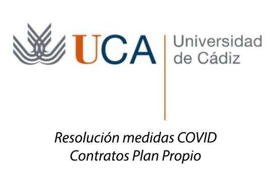 IMG Resolución medidas COVID Contratos Plan Propio UCA